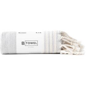 B Yoga B Towel Hænder og ansigt, beige/hvid